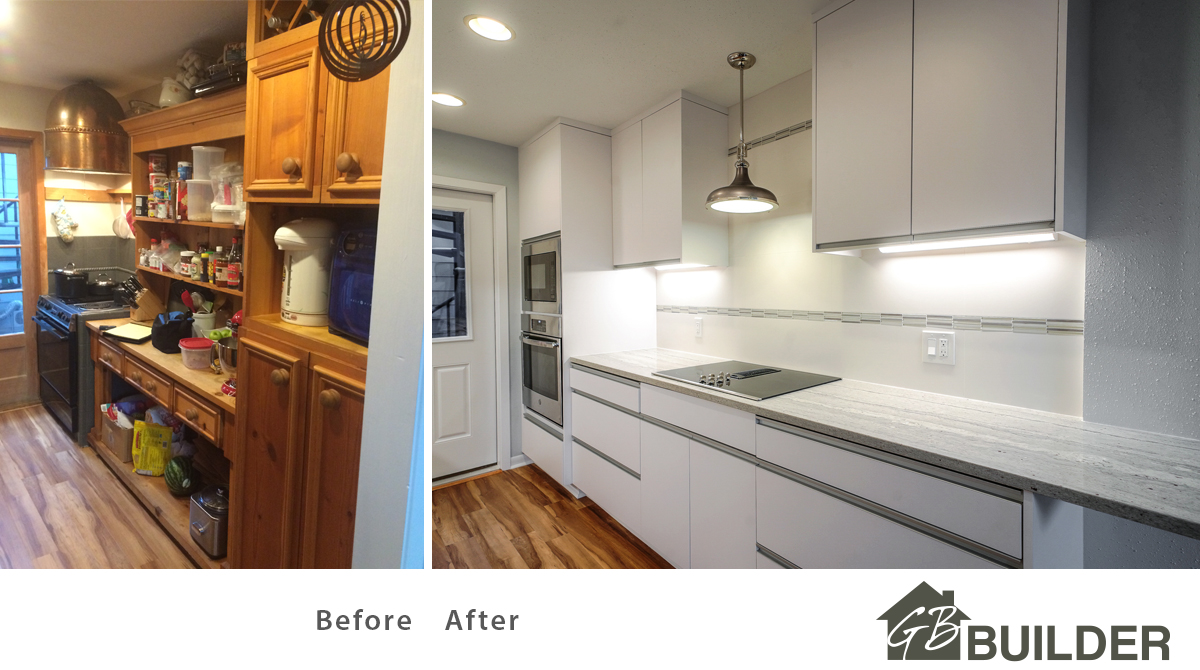 Before After Kitchen Top